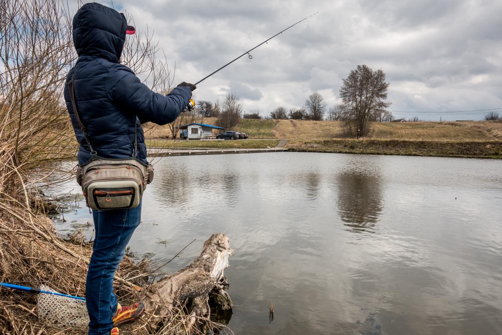 mars - pêcher dans la vallée du garon