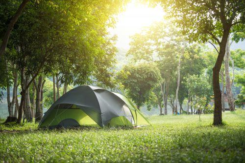 Camper en plein air